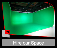 Green Screen Studio Hire